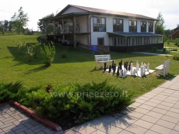 Усадьба на берегу озера для  мероприятий, семинаров,  летних лагерей 48 км от Вилнюса - 10