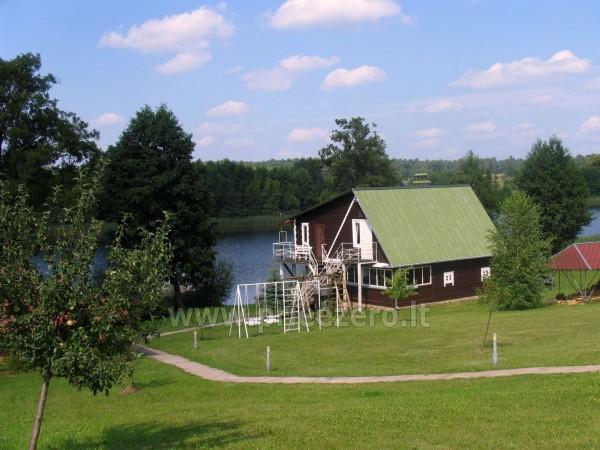 Усадьба на берегу озера для  мероприятий, семинаров,  летних лагерей 48 км от Вилнюса - 8