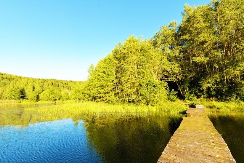 Усадьба «Маленькая Швейцария» в Игналинском районе на озере - 29