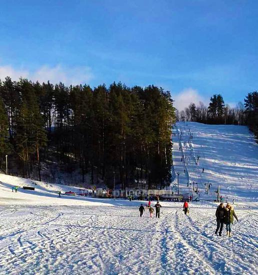 Горные лыжи в Игналине