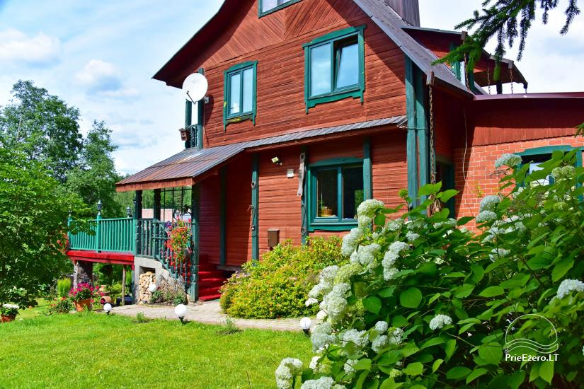 Усадьба «Маленькая Швейцария» в Игналинском районе на озере - 5