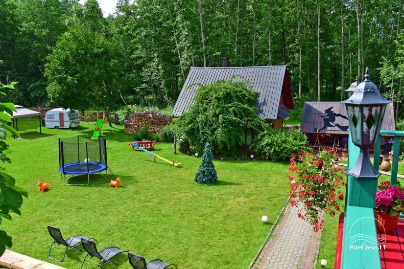 Усадьба «Маленькая Швейцария» в Игналинском районе на озере - 9