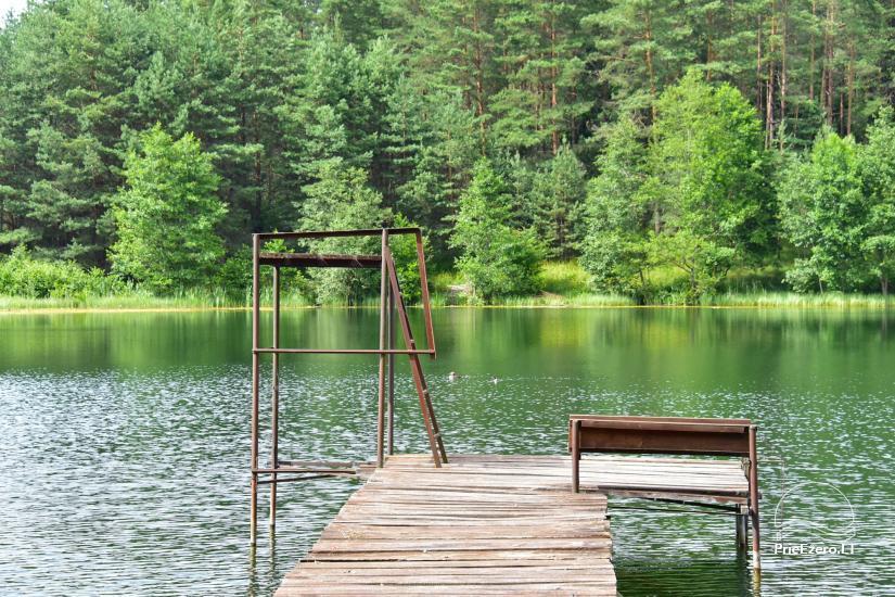 Усадьба «Маленькая Швейцария» в Игналинском районе на озере - 30