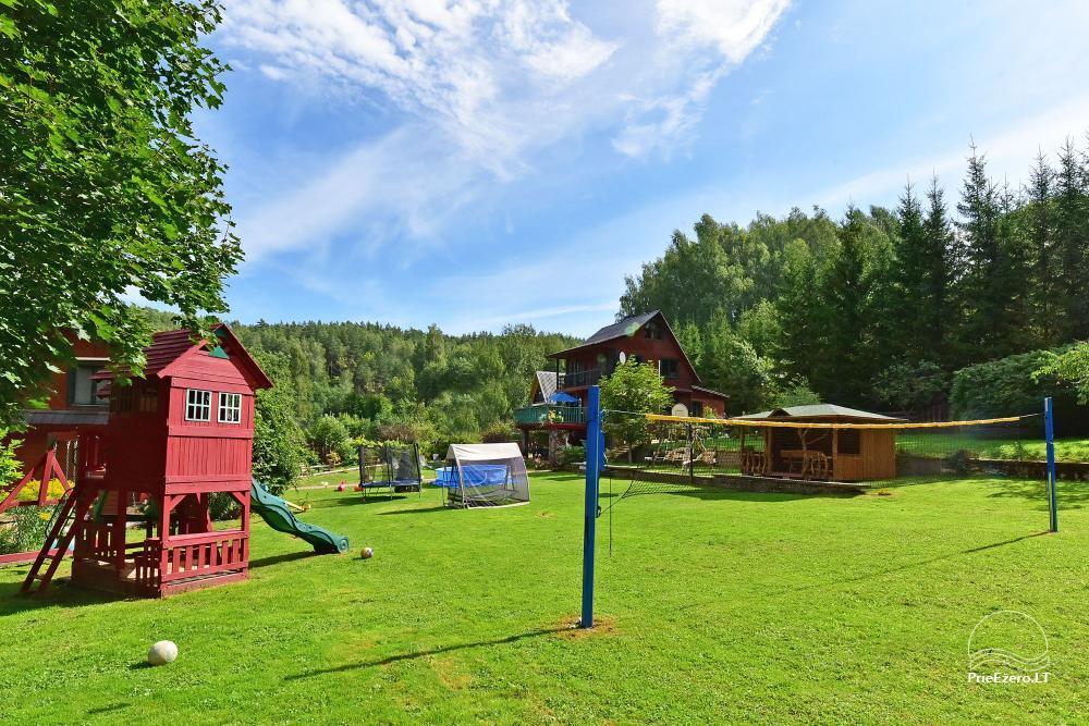 Landhaus Kleine Schweiz im Bezirk Ignalina am See - 3