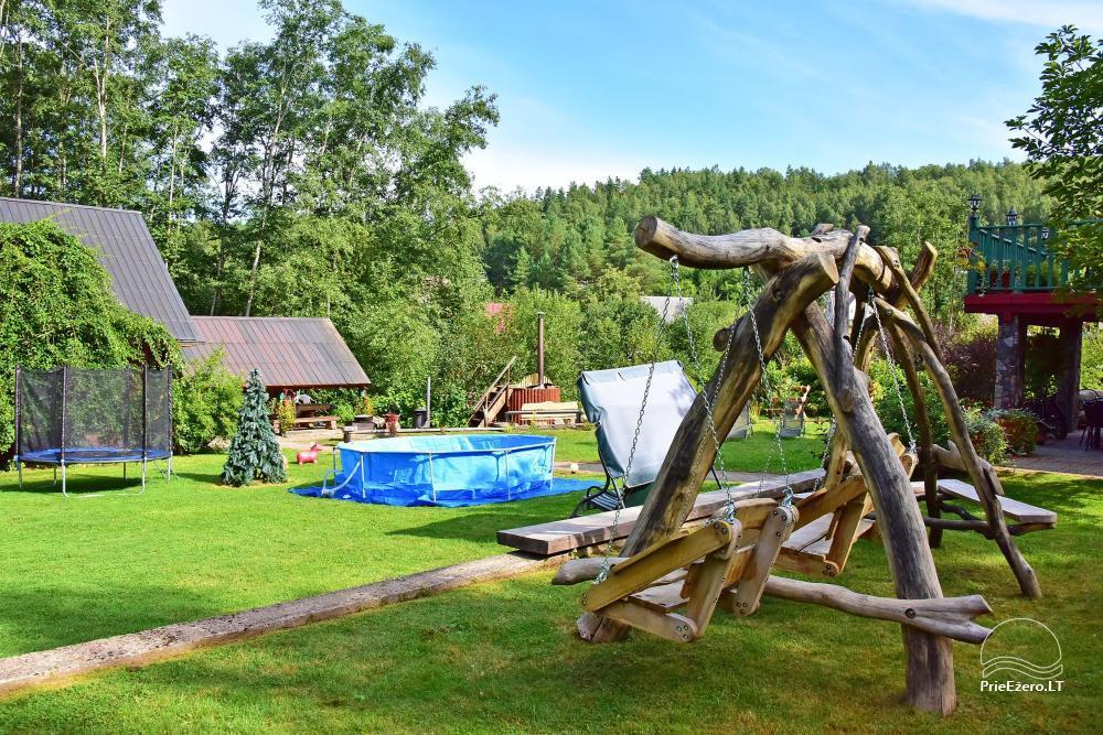 Landhaus Kleine Schweiz im Bezirk Ignalina am See - 24