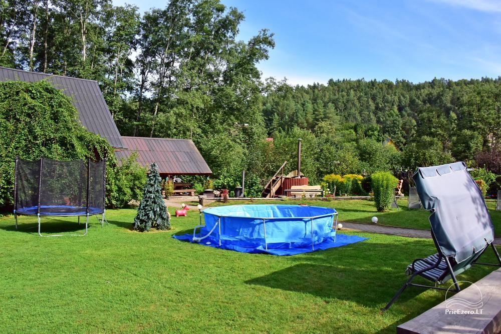 Landhaus Kleine Schweiz im Bezirk Ignalina am See - 25