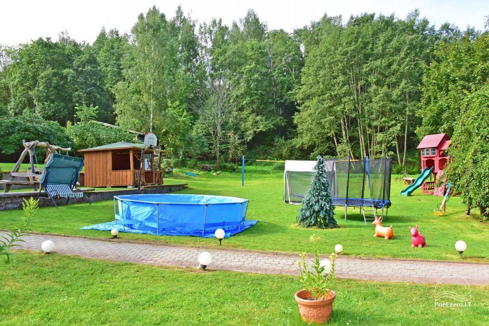 Landhaus Kleine Schweiz im Bezirk Ignalina am See - 12