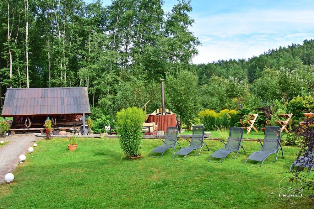 Landhaus Kleine Schweiz im Bezirk Ignalina am See - 16