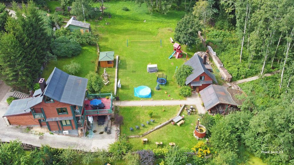 Landhaus Kleine Schweiz im Bezirk Ignalina am See - 27