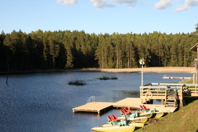 Holiday cottages, apartment, bathhouse near the lake Plateliai Saules slenis - 59