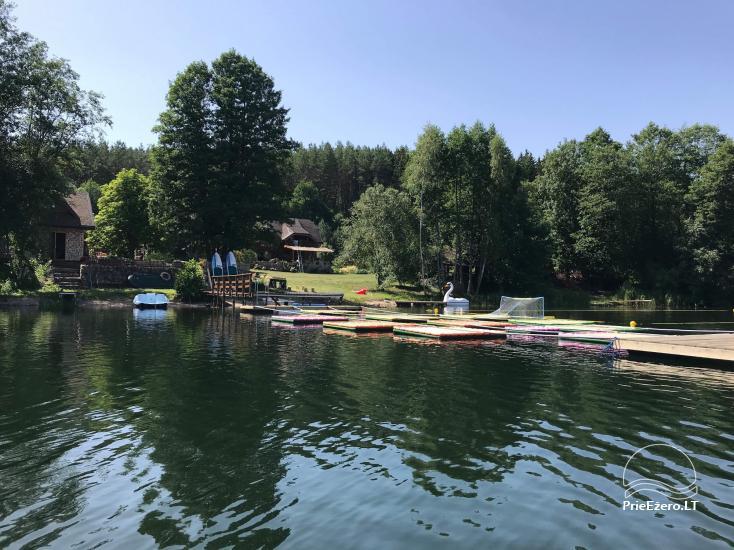 Homestead Akmendvaris in Trakai region at the lake Gilusis - 4