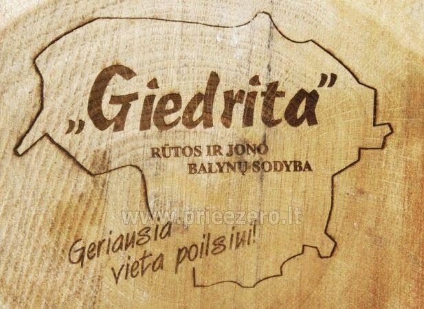Countryside Farmstead in Moletai region Giedrita - 36