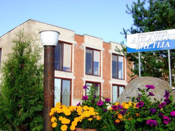 "Holiday House "" Aulaukio Baltija"" in Pape, close to the sea and the lake Pape - 4"