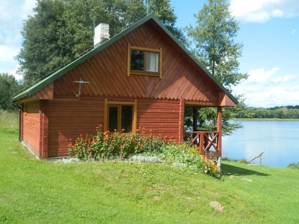 Landhaus in Ignalina Region am See - 1