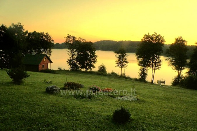 Homestead in Lithuania in Ignalina region at the lake - 2