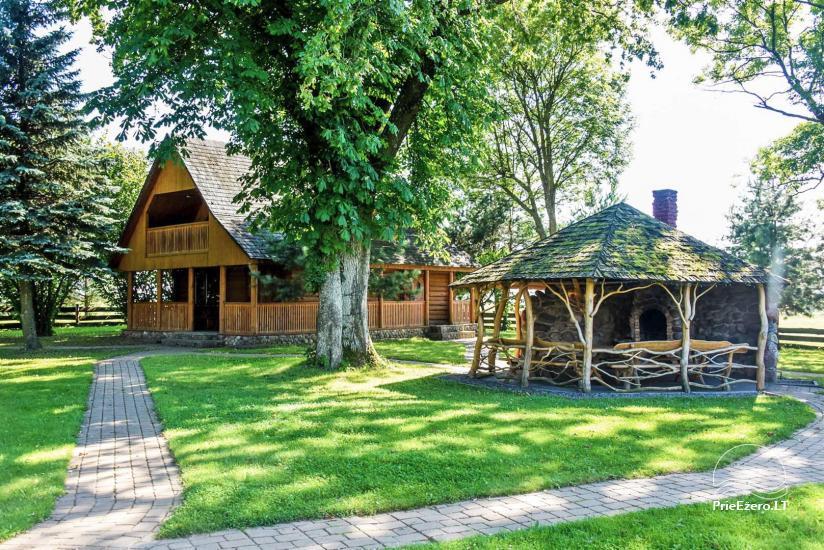 Homestead in Kazlu ruda 30km from Kaunas Pinciskiu sodyba - 8