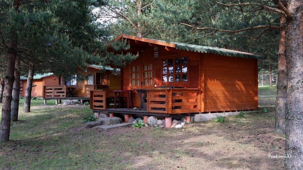 Camping in Lithuania at the lake Vistytis Pusele - 1