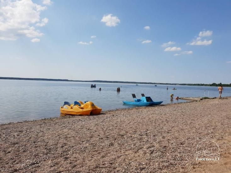 Camping in Lithuania at the lake Vistytis Pusele - 8