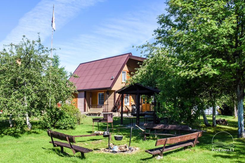 Zagroda w rejonie ignalińskim nad brzegiem jeziora Gaidelių sodyba - 2