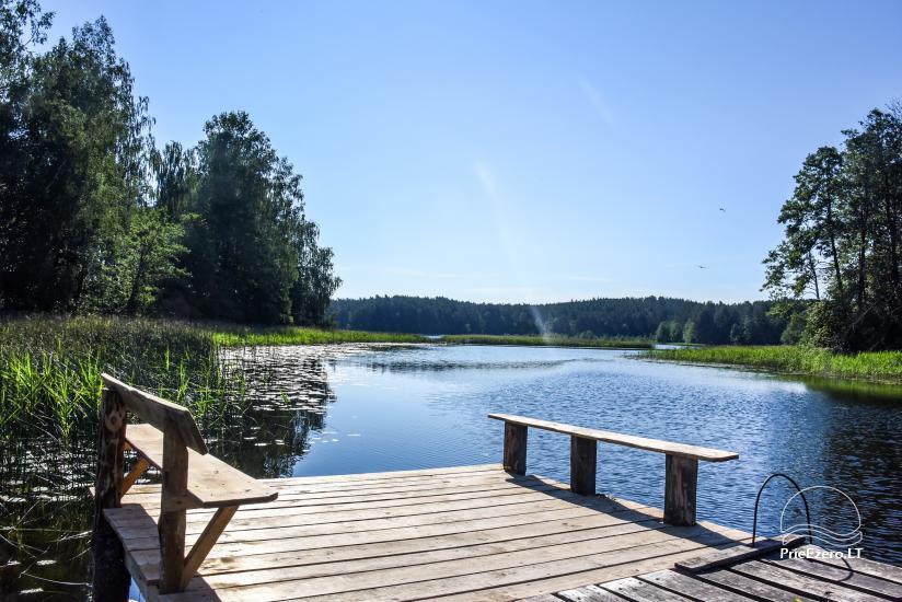 Landhaus in Ignalina Bezirk, durch den See Gaidelių sodyba - 4