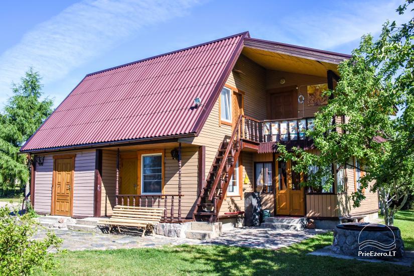 Landhaus in Ignalina Bezirk, durch den See Gaidelių sodyba - 1