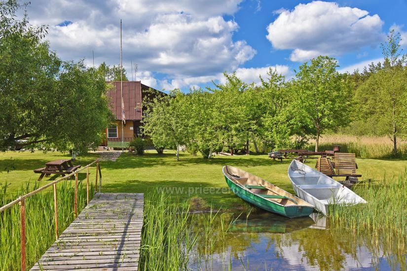 Zagroda w rejonie ignalińskim nad brzegiem jeziora Gaidelių sodyba - 3