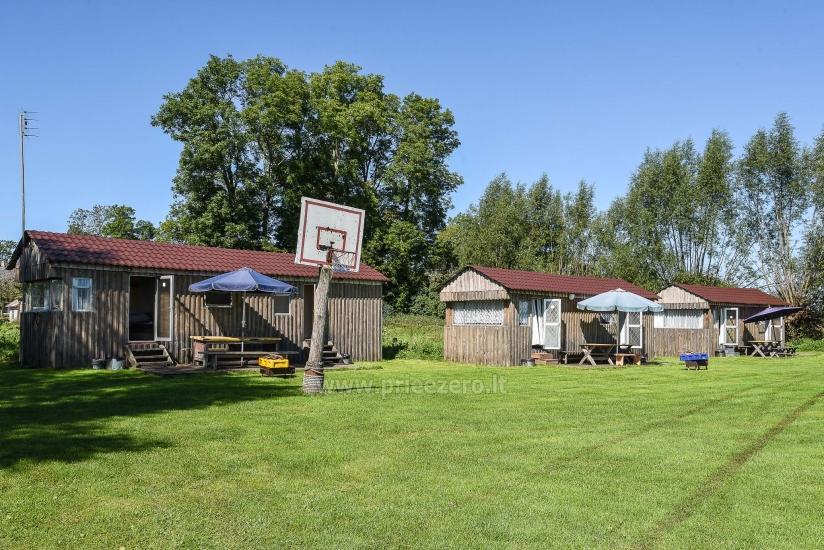 Campingplatz am Fluss Atmata in Šilutė Bereich - 1