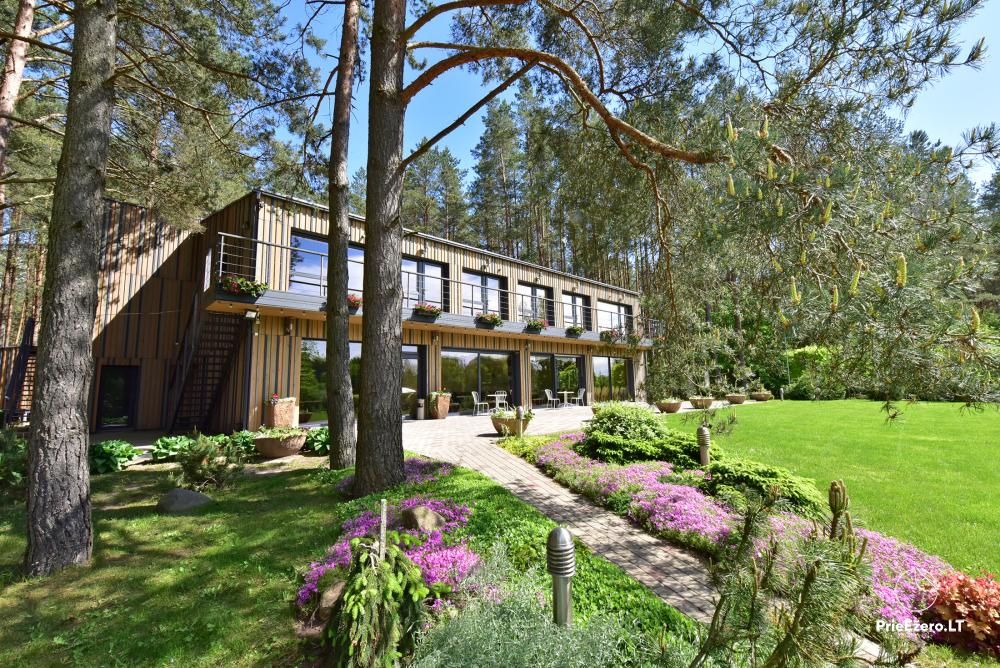 Homestead in Anyksciai region Pine Trail: accommodation, banquets and conference hall, bath, hot tub - 16