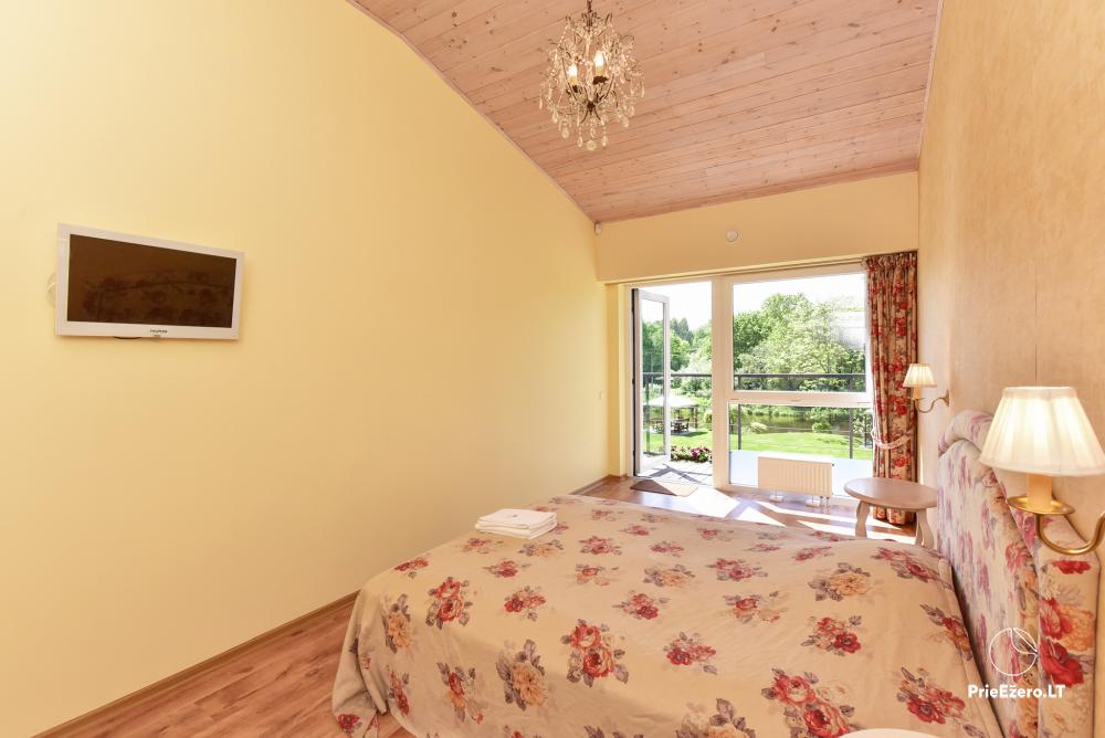 Homestead in Anyksciai region Pine Trail: accommodation, banquets and conference hall, bath, hot tub - 9