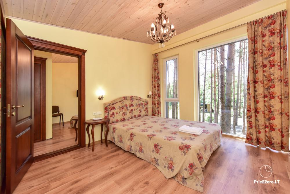 Homestead in Anyksciai region Pine Trail: accommodation, banquets and conference hall, bath, hot tub - 8