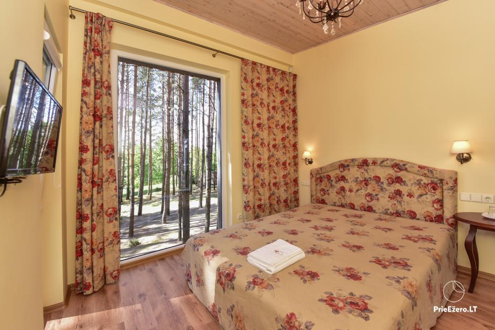 Homestead in Anyksciai region Pine Trail: accommodation, banquets and conference hall, bath, hot tub - 7