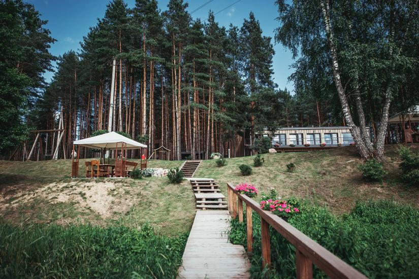 Homestead in Anyksciai region Pine Trail: accommodation, banquets and conference hall, bath, hot tub - 4