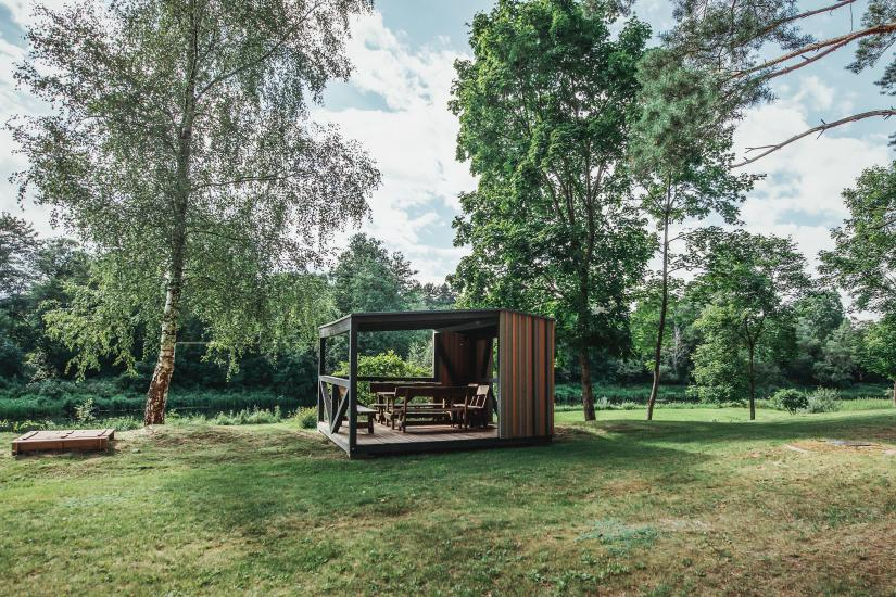Homestead in Anyksciai region Pine Trail: accommodation, banquets and conference hall, bath, hot tub - 12
