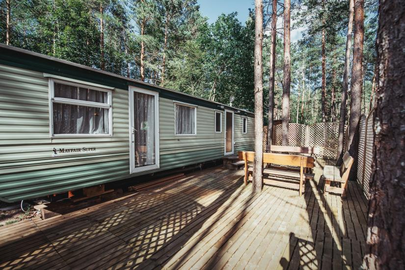 Homestead in Anyksciai region Pine Trail: accommodation, banquets and conference hall, bath, hot tub - 15