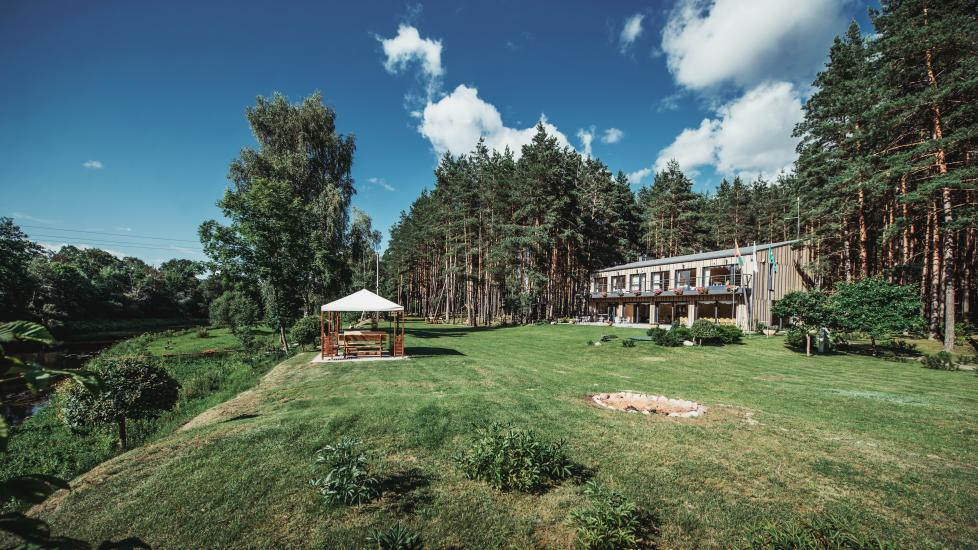 Homestead in Anyksciai region Pine Trail: accommodation, banquets and conference hall, bath, hot tub - 3