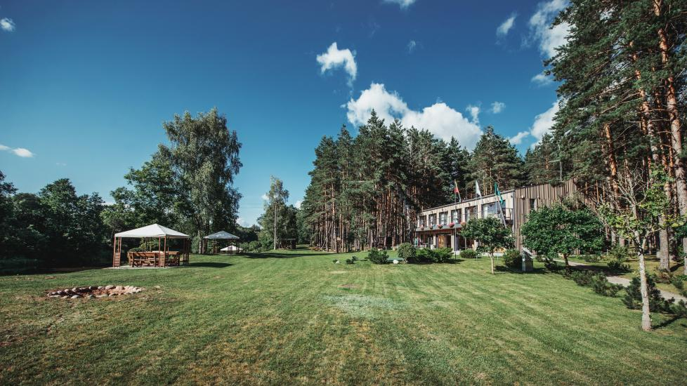 Homestead in Anyksciai region Pine Trail: accommodation, banquets and conference hall, bath, hot tub - 2