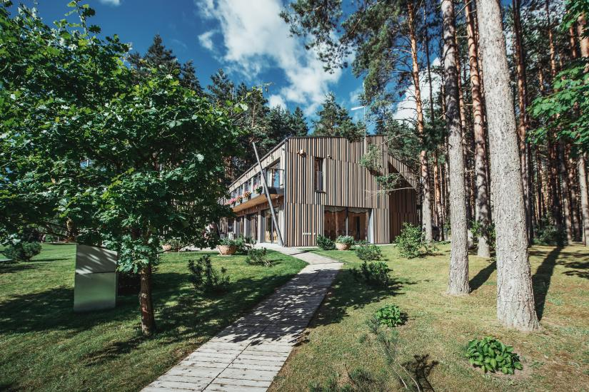 Landhaus in Anyksciai Region Pusu takas - 1