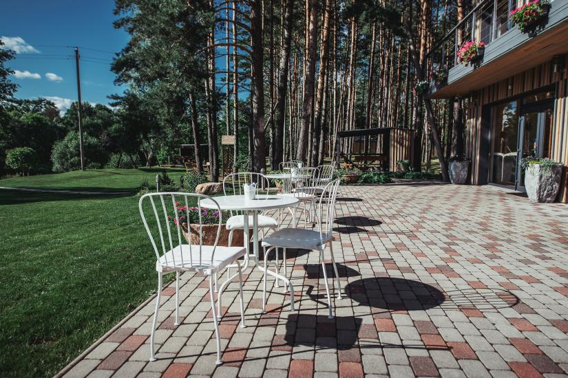 Homestead in Anyksciai region Pine Trail: accommodation, banquets and conference hall, bath, hot tub - 21