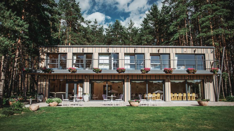 Homestead in Anyksciai region Pine Trail: accommodation, banquets and conference hall, bath, hot tub - 5