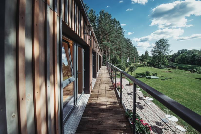 Homestead in Anyksciai region Pine Trail: accommodation, banquets and conference hall, bath, hot tub - 27