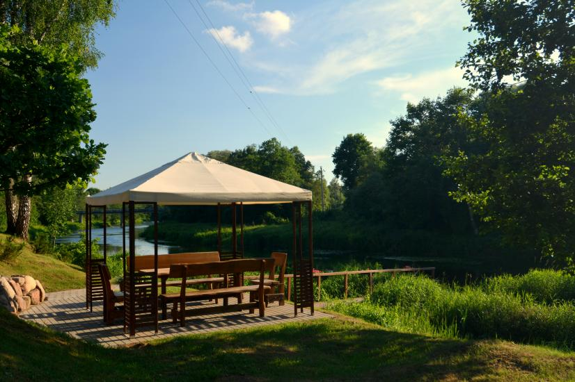 Homestead in Anyksciai region Pine Trail: accommodation, banquets and conference hall, bath, hot tub - 20