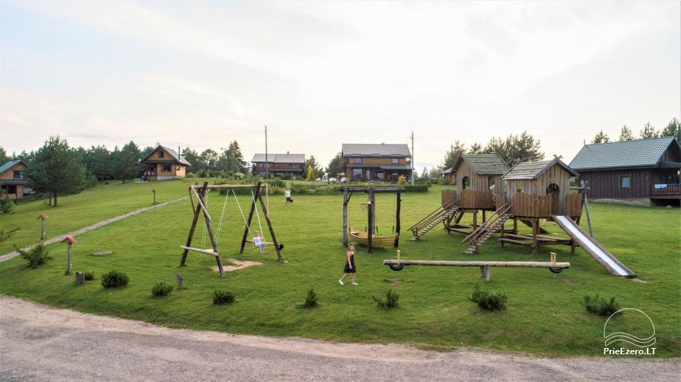 Homestead in Moletai region Įlankos sodyba - 2