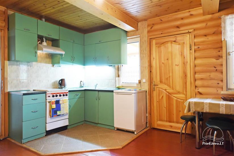 Сельский дом и баня у озера в Игналинском районе - 31