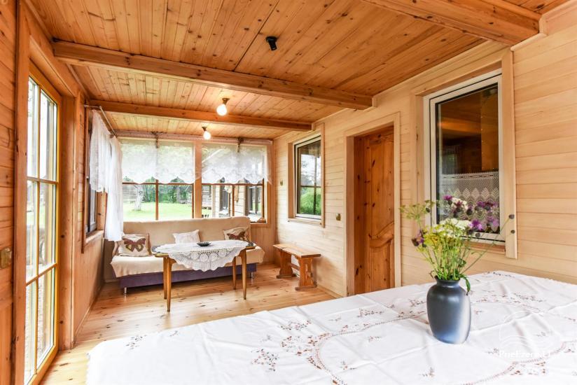 Сельский дом и баня у озера в Игналинском районе - 23