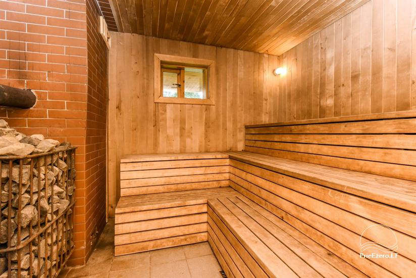 Сельский дом и баня у озера в Игналинском районе - 34