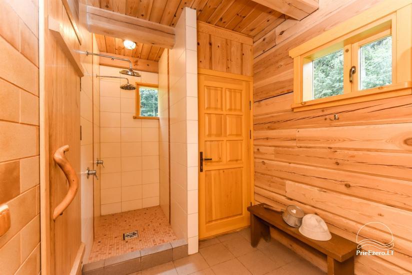 Сельский дом и баня у озера в Игналинском районе - 36
