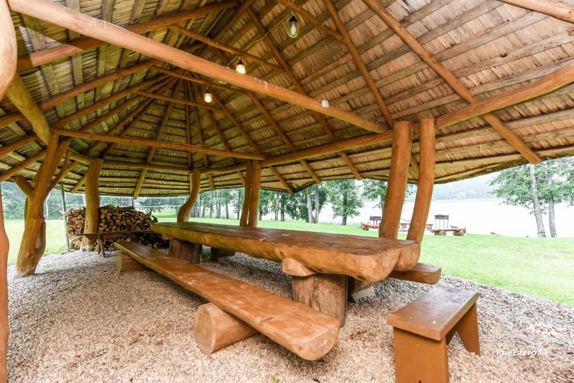 Сельский дом и баня у озера в Игналинском районе - 15