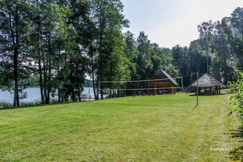 Countryside house by the lake in Ignalina district - 10