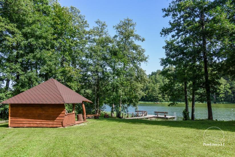 Сельский дом и баня у озера в Игналинском районе - 41