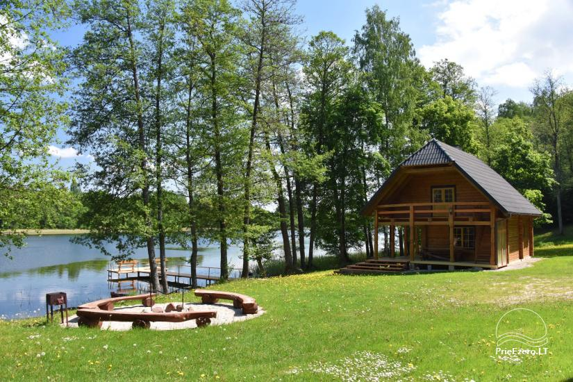 Countryside house by the lake in Ignalina district - 2